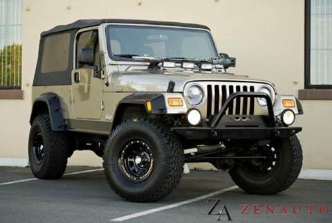 2004 Jeep Wrangler for sale at Zen Auto Sales in Sacramento CA