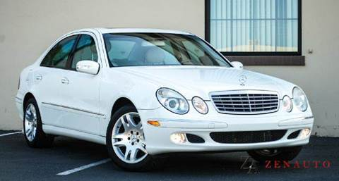 2003 Mercedes-Benz E-Class for sale at Zen Auto Sales in Sacramento CA