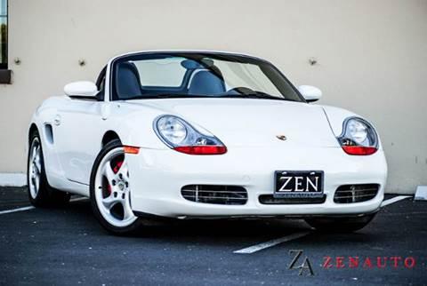 2002 Porsche Boxster for sale at Zen Auto Sales in Sacramento CA