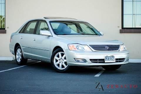 2000 Toyota Avalon for sale at Zen Auto Sales in Sacramento CA