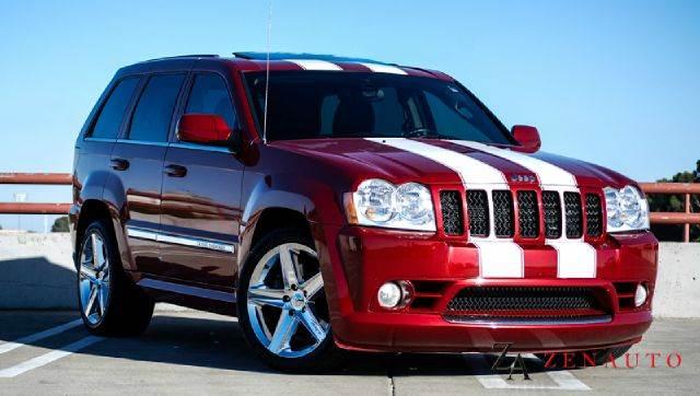 2006 jeep grand cherokee srt 8 srt8 custom awd in sacramento ca zen auto sales. Black Bedroom Furniture Sets. Home Design Ideas