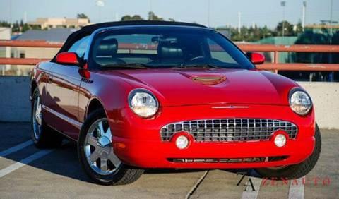 2002 Ford Thunderbird for sale at Zen Auto Sales in Sacramento CA