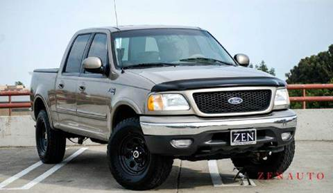 2001 Ford F-150 for sale at Zen Auto Sales in Sacramento CA