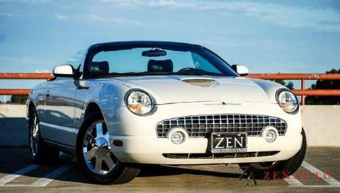 2003 Ford Thunderbird for sale at Zen Auto Sales in Sacramento CA