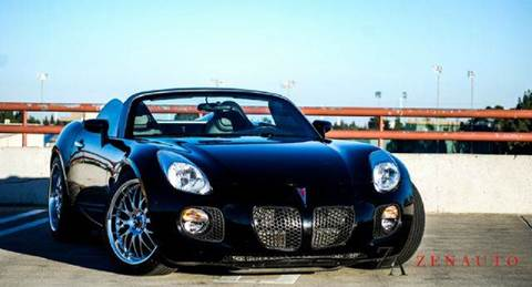 2007 Pontiac Solstice for sale at Zen Auto Sales in Sacramento CA