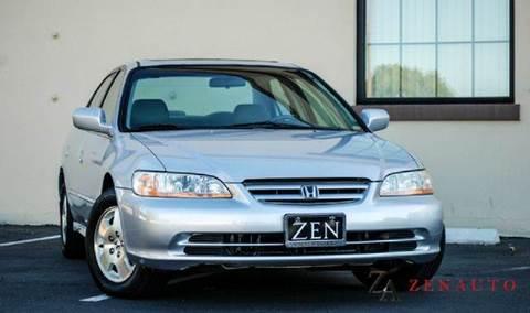 2001 Honda Accord for sale at Zen Auto Sales in Sacramento CA