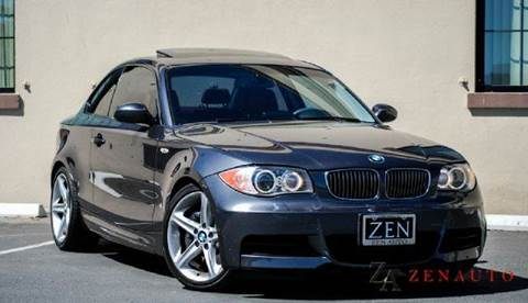2008 BMW 1 Series for sale at Zen Auto Sales in Sacramento CA