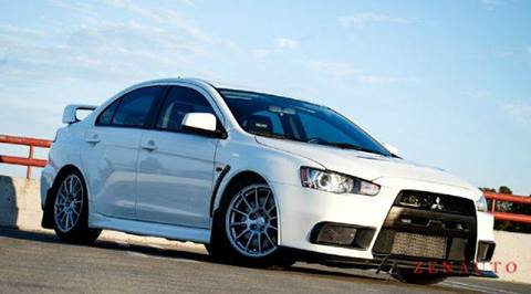 2010 Mitsubishi Lancer Evolution for sale at Zen Auto Sales in Sacramento CA