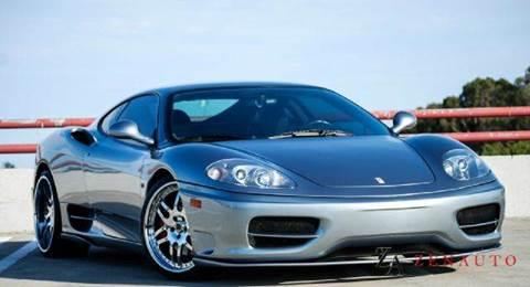 2000 Ferrari 360 Modena for sale at Zen Auto Sales in Sacramento CA