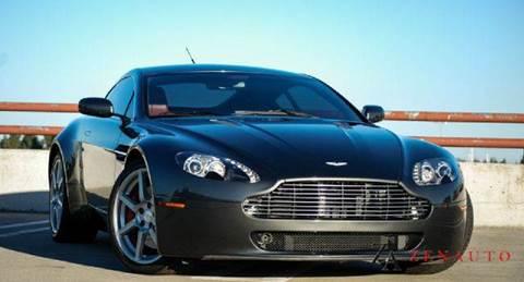 2007 Aston Martin V8 Vantage for sale at Zen Auto Sales in Sacramento CA