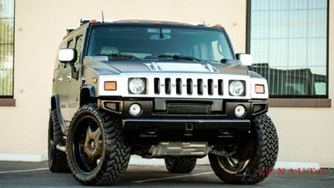 2003 HUMMER H2 for sale at Zen Auto Sales in Sacramento CA
