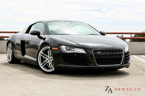 2008 Audi R8 for sale at Zen Auto Sales in Sacramento CA