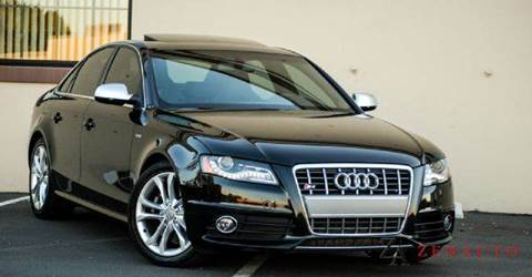 2010 Audi S4 for sale at Zen Auto Sales in Sacramento CA