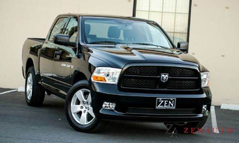2012 Dodge Ram Pickup 1500 for sale at Zen Auto Sales in Sacramento CA