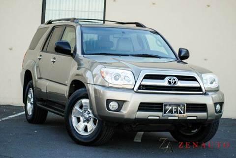 2007 Toyota 4Runner for sale at Zen Auto Sales in Sacramento CA