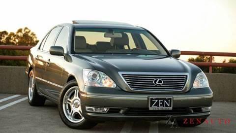 2004 Lexus LS 430 for sale at Zen Auto Sales in Sacramento CA