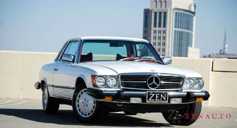 1979 Mercedes-Benz SL-Class for sale at Zen Auto Sales in Sacramento CA