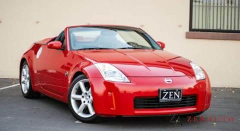 2005 Nissan 350Z for sale at Zen Auto Sales in Sacramento CA