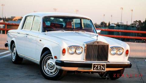 1977 Rolls-Royce Silver Shadow for sale at Zen Auto Sales in Sacramento CA