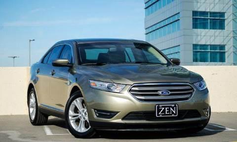 2013 Ford Taurus for sale at Zen Auto Sales in Sacramento CA