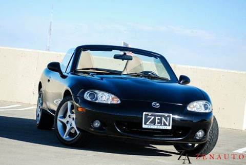 2001 Mazda MX-5 Miata for sale at Zen Auto Sales in Sacramento CA