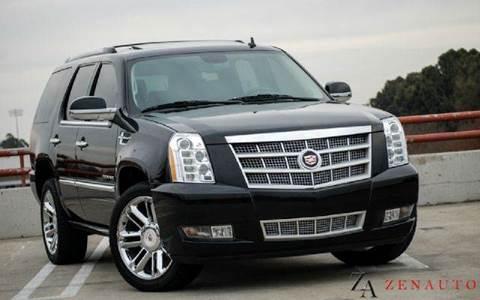 2012 Cadillac Escalade for sale at Zen Auto Sales in Sacramento CA