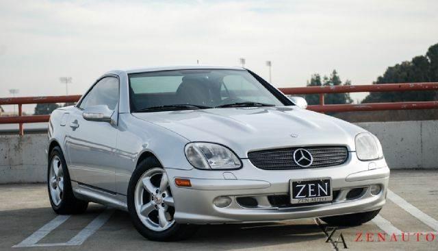 320 slk 2003