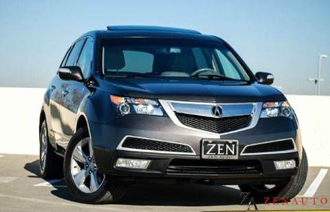2011 Acura MDX for sale at Zen Auto Sales in Sacramento CA