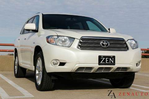 2009 Toyota Highlander for sale at Zen Auto Sales in Sacramento CA