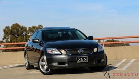 2007 Lexus GS 350 for sale at Zen Auto Sales in Sacramento CA