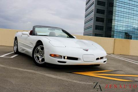 1998 Chevrolet Corvette for sale at Zen Auto Sales in Sacramento CA