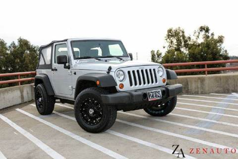 2007 Jeep Wrangler for sale at Zen Auto Sales in Sacramento CA