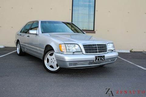 1999 Mercedes-Benz S-Class for sale at Zen Auto Sales in Sacramento CA