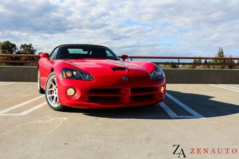 2005 Dodge Viper for sale at Zen Auto Sales in Sacramento CA