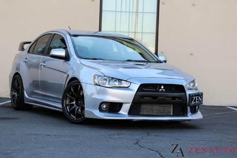 2008 Mitsubishi Lancer Evolution for sale at Zen Auto Sales in Sacramento CA