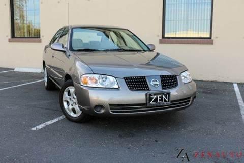 2005 Nissan Sentra for sale at Zen Auto Sales in Sacramento CA