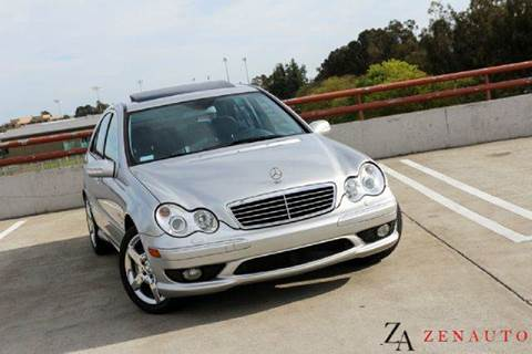 2004 Mercedes-Benz C-Class for sale at Zen Auto Sales in Sacramento CA