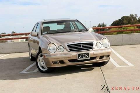 2001 Mercedes-Benz E-Class for sale at Zen Auto Sales in Sacramento CA
