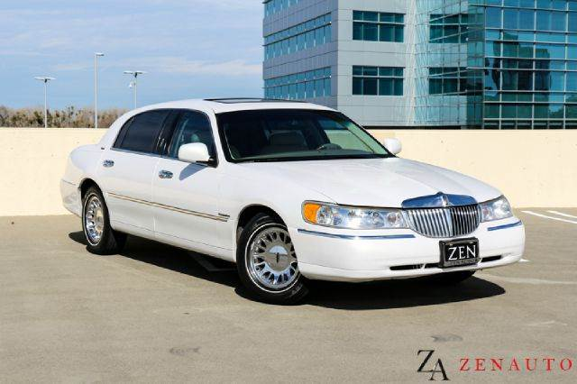 2000 Lincoln Town Car Cartier L Lwb Continental Towncar In