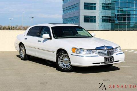 2000 Lincoln Town Car for sale at Zen Auto Sales in Sacramento CA