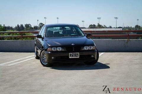 2001 BMW 5 Series for sale at Zen Auto Sales in Sacramento CA