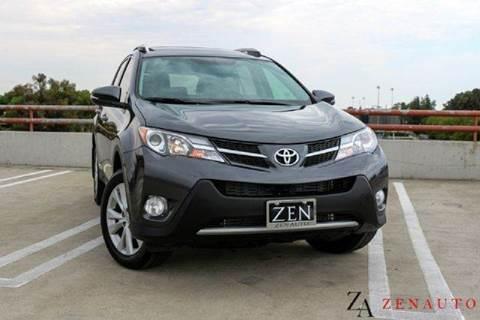 2013 Toyota RAV4 for sale at Zen Auto Sales in Sacramento CA