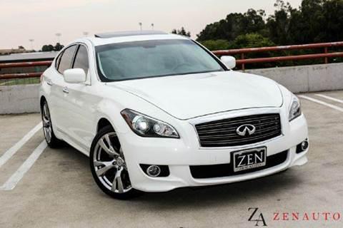 2011 Infiniti M37 for sale at Zen Auto Sales in Sacramento CA