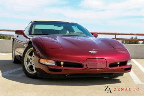 2003 Chevrolet Corvette for sale at Zen Auto Sales in Sacramento CA