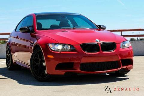 2008 BMW M3 for sale at Zen Auto Sales in Sacramento CA