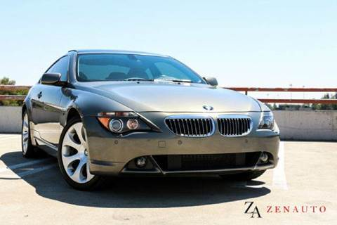 2005 BMW 6 Series for sale at Zen Auto Sales in Sacramento CA