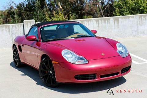 2001 Porsche Boxster for sale at Zen Auto Sales in Sacramento CA