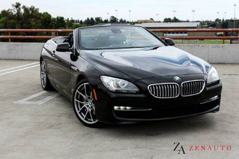 2012 BMW 6 Series for sale at Zen Auto Sales in Sacramento CA