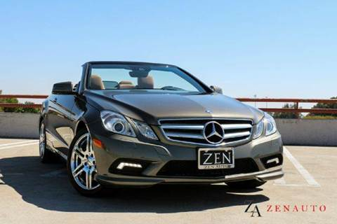 2011 Mercedes-Benz E-Class for sale at Zen Auto Sales in Sacramento CA