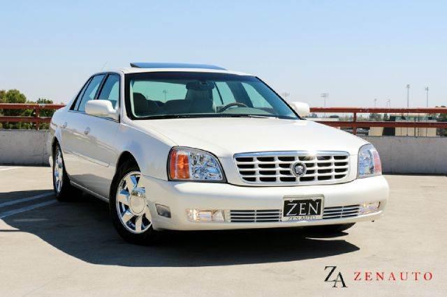 2001 Cadillac Deville Dts Sedan Premium Pkg White Diamond Navi In